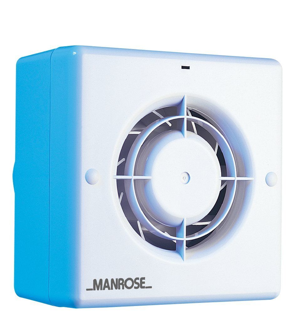 Vent axia extractor fans for bathrooms - Manrose Cf100t Toilet Bathroom Quiet Extract Fan With Timer
