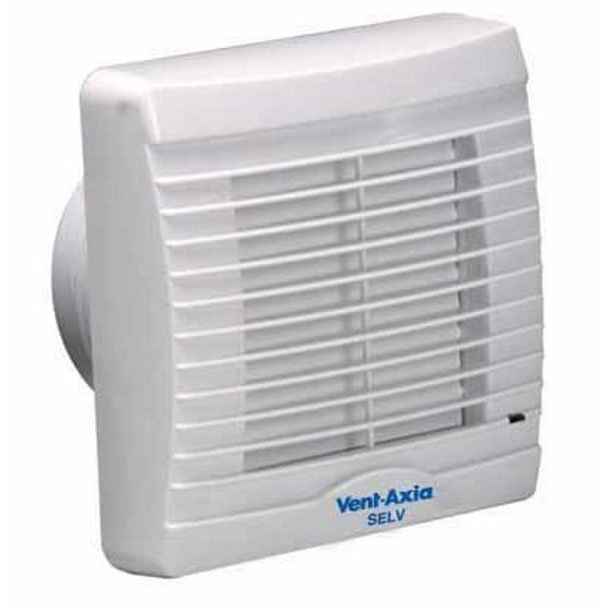vent axia va100xp axial bathroom toilet extractor fan with pullcord and shutters