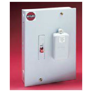 wylex 108m metal clad 1 way switch fuse housing. Black Bedroom Furniture Sets. Home Design Ideas